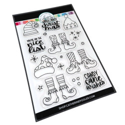 Nice List, Catherine Pooler Clear Stamps - 819447028450