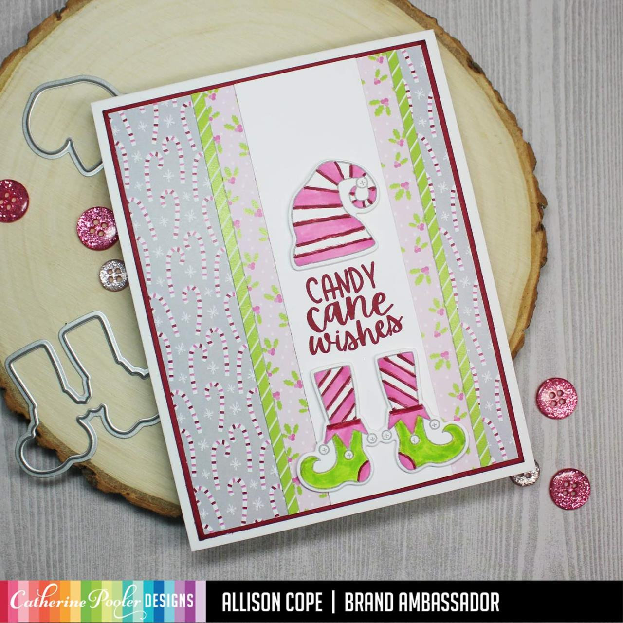 Holiday Whimsy, Catherine Pooler Patterned Paper - 819447028368