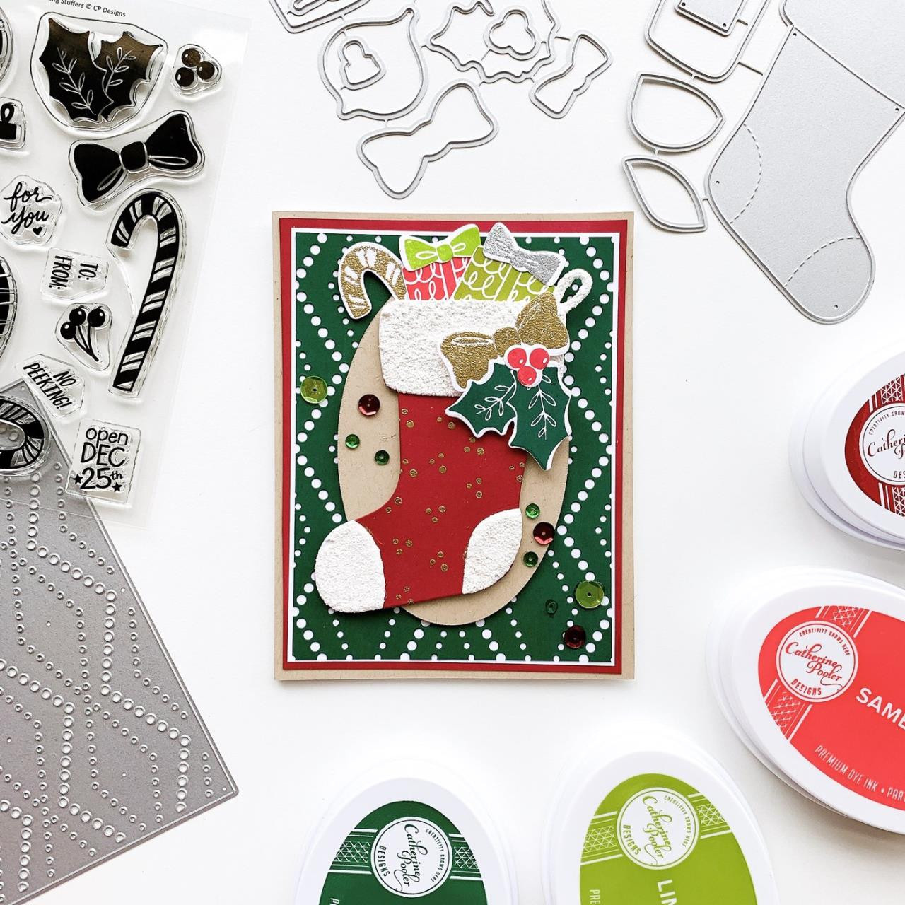 Stocking Stuffer, Catherine Pooler Clear Stamps - 819447028474