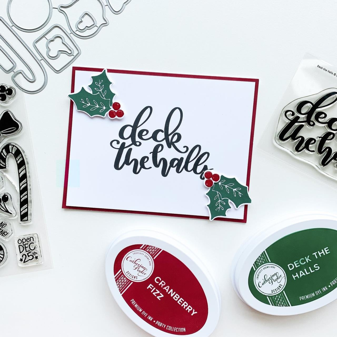 Deck the Halls, Catherine Pooler Clear Stamps - 819447028481