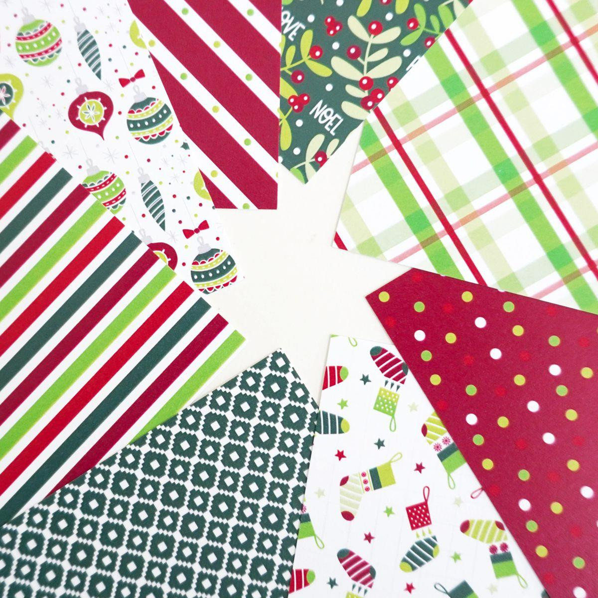 All Wrapped Up, Catherine Pooler Patterned Paper - 819447028351