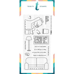 Cozy Bear, Trinity Stamps Clear Stamps -