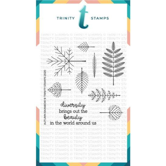 Autumn Rainbow, Trinity Stamps Clear Stamps -