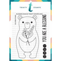 Blessing Bear, Trinity Stamps Clear Stamps -