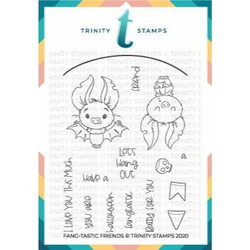 Fang-tastic Friends, Trinity Stamps Clear Stamps -