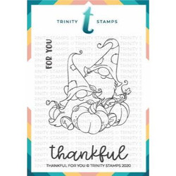 Thankful for You, Trinity Stamps Clear Stamps -