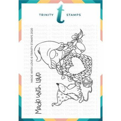 Made with Love, Trinity Stamps Clear Stamps -