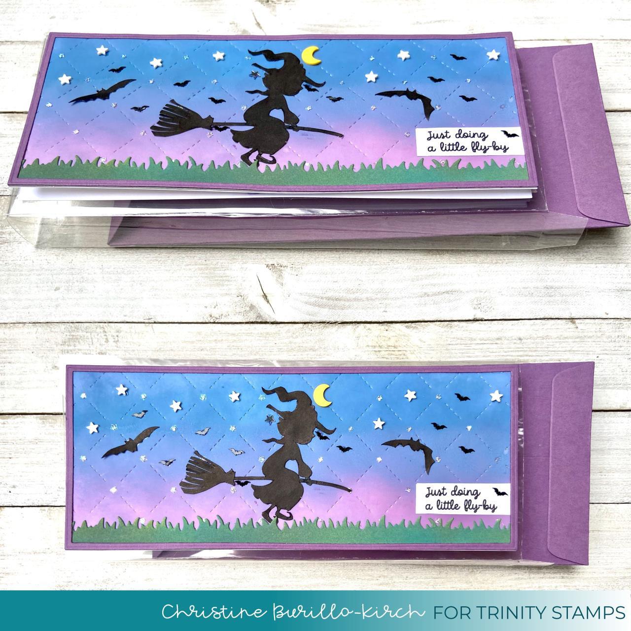 Slimline Series: Envelope Add-On, Trinity Stamps Dies -
