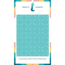 A-2 Quilted Cover, Trinity Stamps Dies -