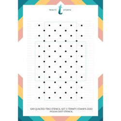 Quilted Pattern Trio, Trinity Stamps Stencils -