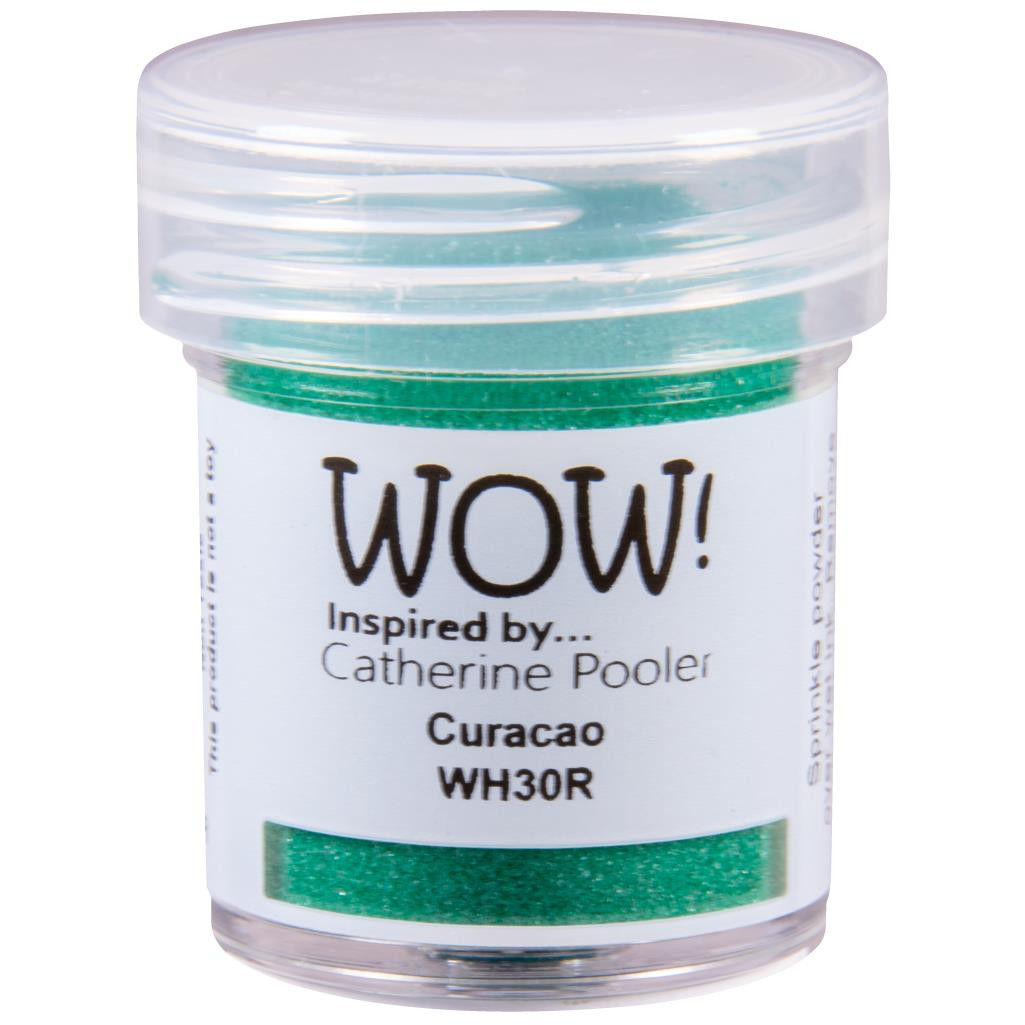 Regular - Primary Curacao by Catherine Pooler, WOW Embossing Powder -