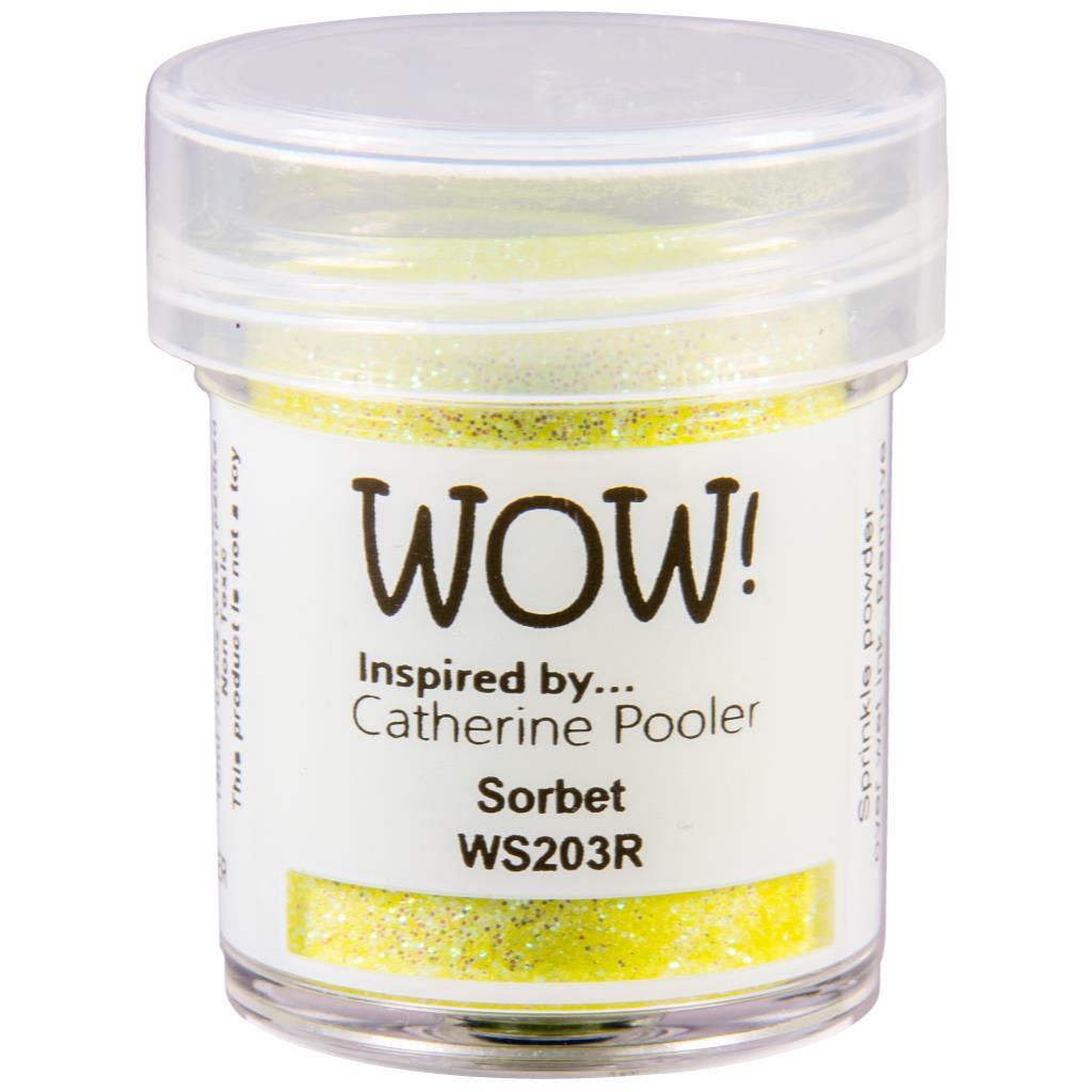 Regular - Sorbet by Catherine Pooler, WOW Embossing Powder -