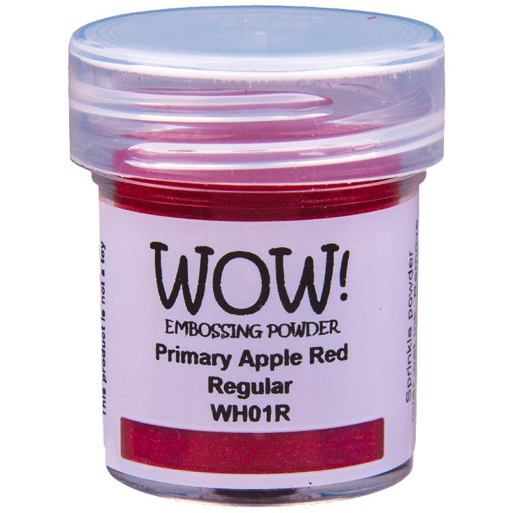 Regular - Primary Apple Red, WOW Embossing Powder -