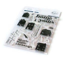 Our Home to Yours, Pinkfresh Studio Clear Stamps - 736952868350