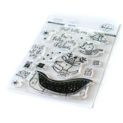 Sleigh Bells Ring, Pinkfresh Studio Clear Stamps - 736952868473