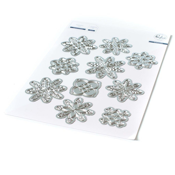 Layered Snowflakes, Pinkfresh Studio Dies - 736952868442