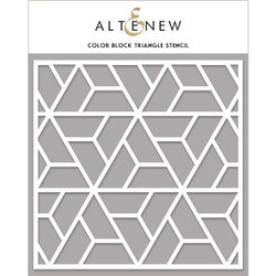 Color Block Triangle, Altenew Stencils - 737787269206