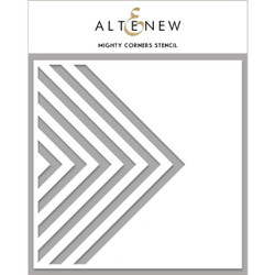Mighty Corners, Altenew Stencils - 737787269237