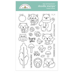 Forest Friends-6972, Doodlebug Clear Stamps - 842715069725