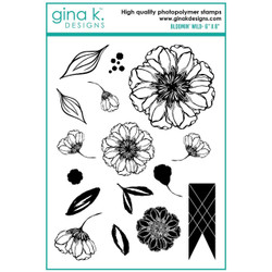Bloomin Wild, Gina K Designs Clear Stamps - 609015526927