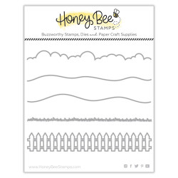 Horizon Slimline Borders, Honey Cuts Dies - 652827599580