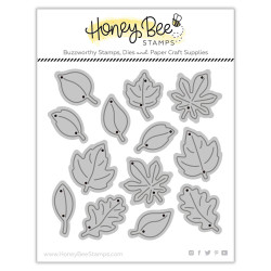 Itty Bitty Leaves, Honey Cuts Dies - 652827599573