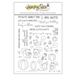 Nuts About You, Honey Bee Clear Stamps - 652827602624