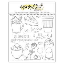 Treat Yo Self, Honey Bee Clear Stamps - 652827602754