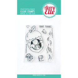 Aw, Nuts, Avery Elle Clear Stamps - 811568029064