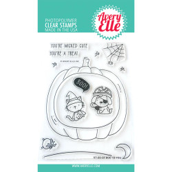 Boo to You, Avery Elle Clear Stamps - 811568029088