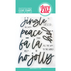Jingle, Avery Elle Clear Stamps - 811568028883