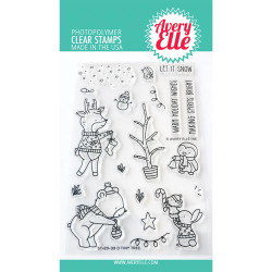 O Tiny Tree, Avery Elle Clear Stamps - 811568029002
