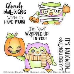 Owl You Doin', Darcie's Clear Stamps -