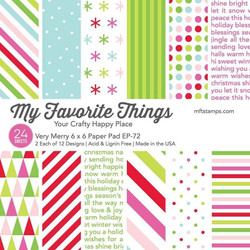 Very Merry, My Favorite Things Paper Pack - 849923036815