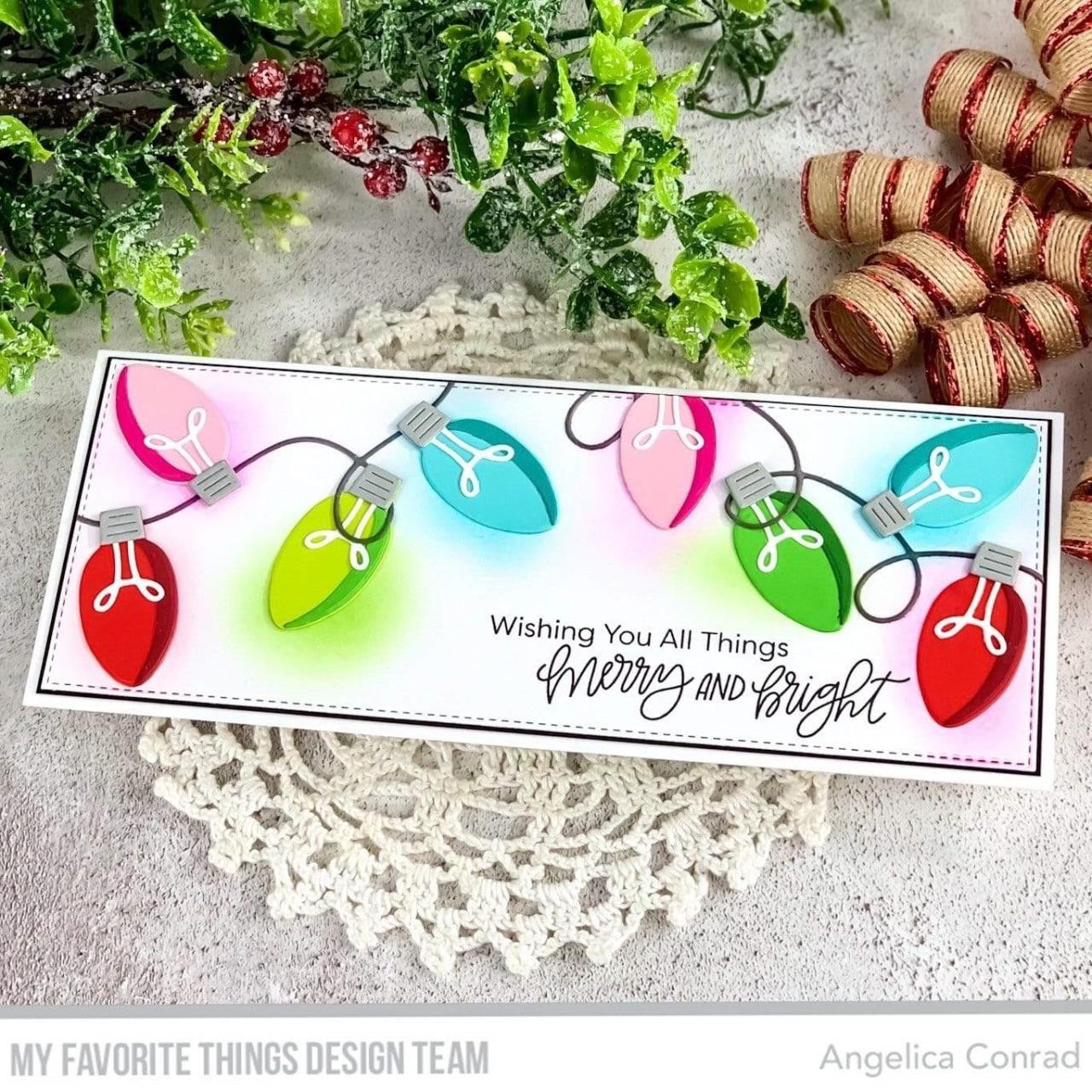 Merry & Bright, My Favorite Things Clear Stamps - 849923037010