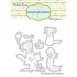 (PREORDER) Ice Cream Day by Anita Jeram, Colorado Craft Company Dies -