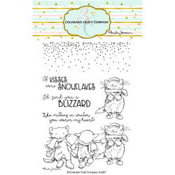 Kittens & Mittens by Anita Jeram, Colorado Craft Company Clear Stamps -