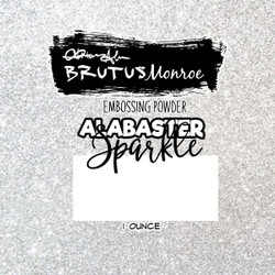 Alabaster Sparkle, Brutus Monroe Embossing Powder -