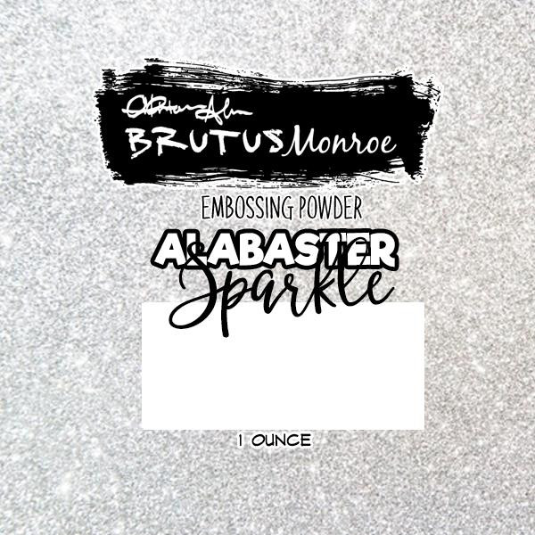 Alabaster Sparkle, Brutus Monroe Embossing Powder -