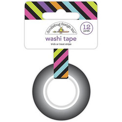 Trick or Treat Stripe, Doodlebug Washi Tape - 842715069299
