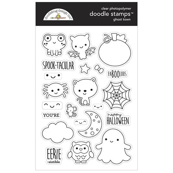Ghost Town, Doodlebug Clear Stamps - 842715069763