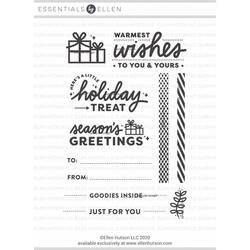 Warmest Wishes by Christine Herrin, Essentials by Ellen Clear Stamps -