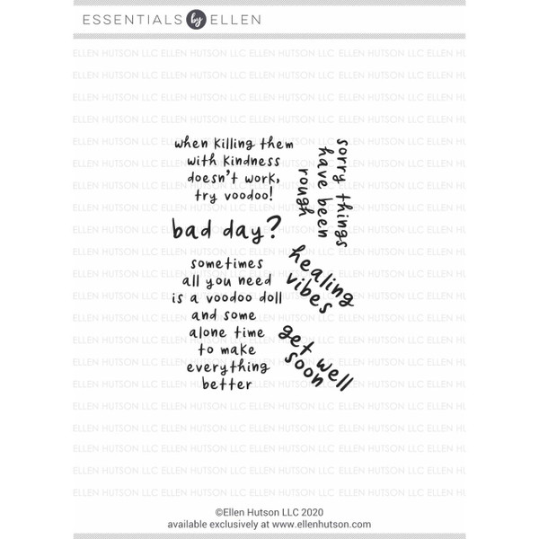 Bad Day by Julie Ebersole, Essentials by Ellen Clear Stamps -