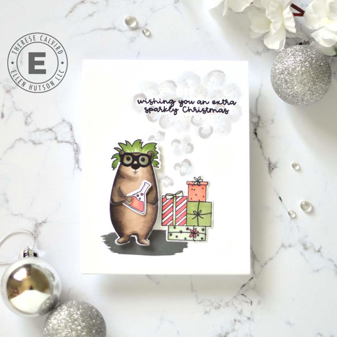 Bear Ware 5 by Julie Ebersole, Essentials by Ellen Clear Stamps -