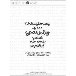 Sparkly Christmas by Julie Ebersole, Essentials by Ellen Clear Stamps -