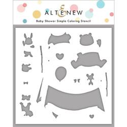 Baby Shower, Altenew Stencils - 737787270257