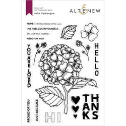 Hello Hydrangea, Altenew Clear Stamps - 737787270332