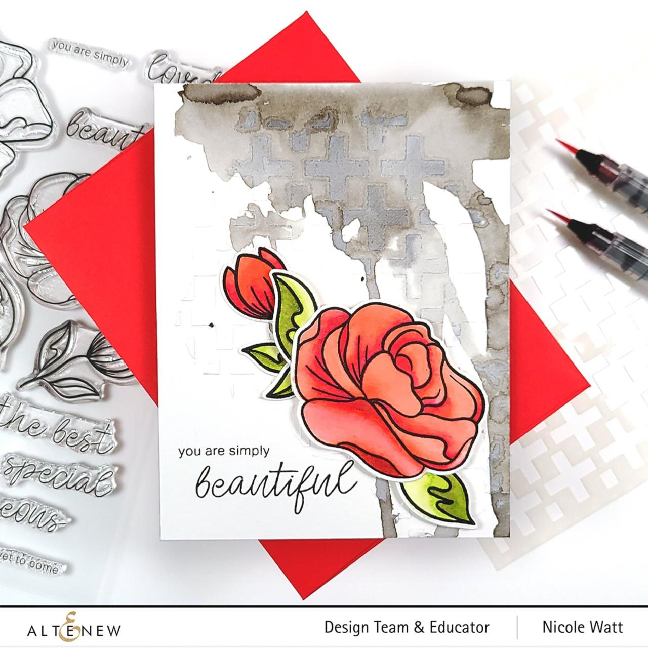 Simple Roses, Altenew Dies - 737787270370