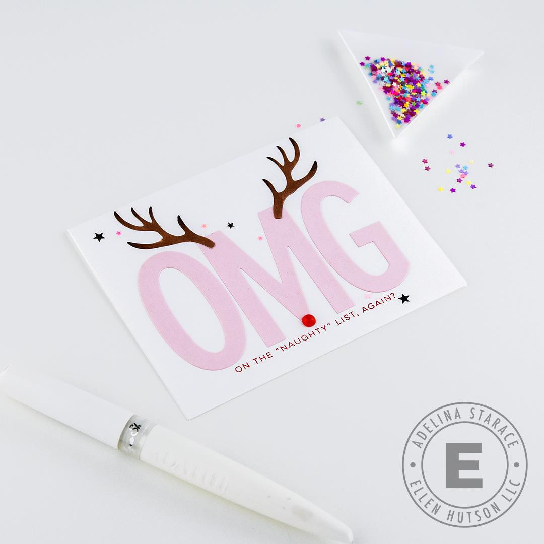 Deer Antlers by Julie Ebersole, Essentials by Ellen Designer Dies -