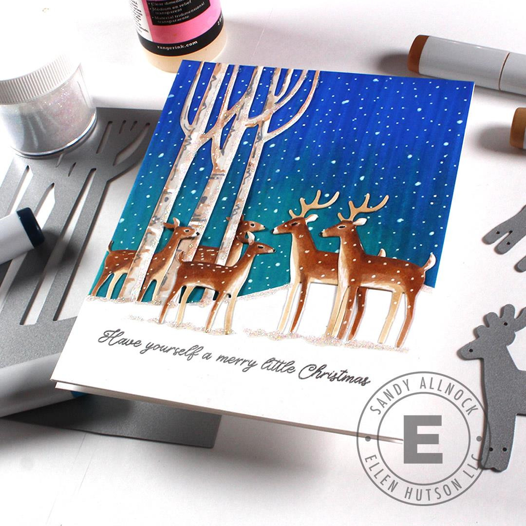 Deer Couple by Julie Ebersole, Essentials by Ellen Designer Dies -